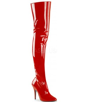 Seduce Red Thigh High Kinky Boots Cosplay Costume Closet Halloween Costume Shop Halloween Cosplay Costumes | Kids, Adult & Plus Size Halloween Costumes