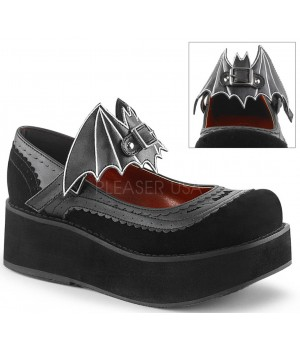 Bat Sprite Black Platform Mary Jane Shoe Cosplay Costume Closet Halloween Shop Halloween Cosplay Costumes | Kids, Adult & Plus Size Halloween Costumes