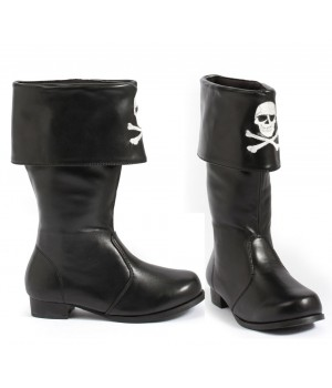 Childrens Pirate Boot with Embroidered Skull Cosplay Costume Closet Halloween Costume Shop Halloween Cosplay Costumes | Kids, Adult & Plus Size Halloween Costumes