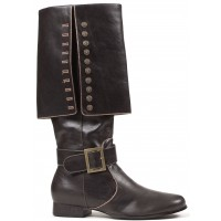 Mens Foldover Pirate Captain Boots