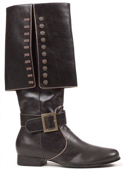 Mens Foldover Pirate Captain Boots at Cosplay Costume Closet Halloween Costume Shop, Halloween Cosplay Costumes | Kids, Adult & Plus Size Halloween Costumes