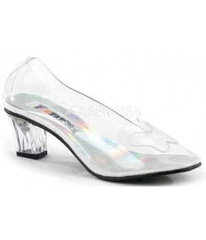 Crystal Clear Butterfly Cinderella Pump Cosplay Costume Closet Halloween Shop Halloween Cosplay Costumes | Kids, Adult & Plus Size Halloween Costumes