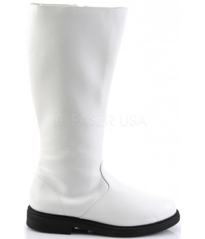 Captain Mid Calf Plain White Stormtrooper Boots Cosplay Costume Closet Halloween Shop Halloween Cosplay Costumes | Kids, Adult & Plus Size Halloween Costumes
