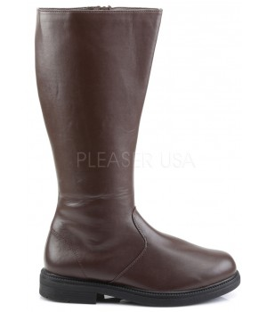 Captain Mid Calf Plain Brown Boots Cosplay Costume Closet Halloween Shop Halloween Cosplay Costumes | Kids, Adult & Plus Size Halloween Costumes