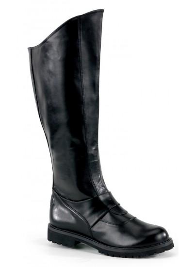 Gotham Knee High Plain Black Boots at Cosplay Costume Closet Halloween Shop, Halloween Cosplay Costumes | Kids, Adult & Plus Size Halloween Costumes