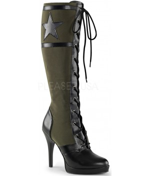 Arena Army Green Knee Boots for Women Cosplay Costume Closet Halloween Shop Halloween Cosplay Costumes | Kids, Adult & Plus Size Halloween Costumes