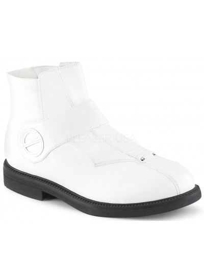 Clone White Stormtrooper Ankle Boots at Cosplay Costume Closet Halloween Shop, Halloween Cosplay Costumes | Kids, Adult & Plus Size Halloween Costumes