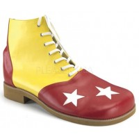 Red and Yellow Adult Clown Shoes