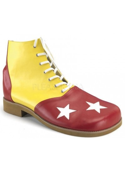 Red and Yellow Adult Clown Shoes at Cosplay Costume Closet Halloween Shop, Halloween Cosplay Costumes | Kids, Adult & Plus Size Halloween Costumes