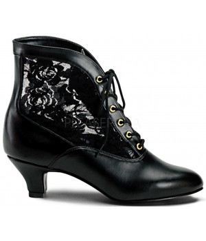 Victorian Dame Black Ankle Boot Cosplay Costume Closet Halloween Costume Shop Halloween Cosplay Costumes | Kids, Adult & Plus Size Halloween Costumes