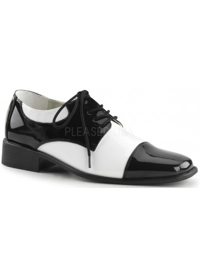 Disco Black and White Costume Shoes at Cosplay Costume Closet Halloween Shop, Halloween Cosplay Costumes | Kids, Adult & Plus Size Halloween Costumes