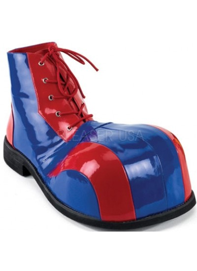 Red and Blue Adult Clown Shoes at Cosplay Costume Closet Halloween Costume Shop, Halloween Cosplay Costumes | Kids, Adult & Plus Size Halloween Costumes