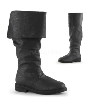 Robin Hood Renaissance Black Boots Cosplay Costume Closet Halloween Cosplay Costumes | Kids, Adult & Plus Size Halloween Costumes