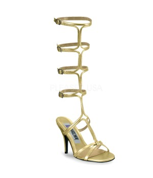 Roman Gold Gladiator Mule Sandal Cosplay Costume Closet Halloween Costume Shop Halloween Cosplay Costumes | Kids, Adult & Plus Size Halloween Costumes