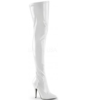 Seduce White High Heel Thigh High Boots Cosplay Costume Closet Halloween Costume Shop Halloween Cosplay Costumes | Kids, Adult & Plus Size Halloween Costumes
