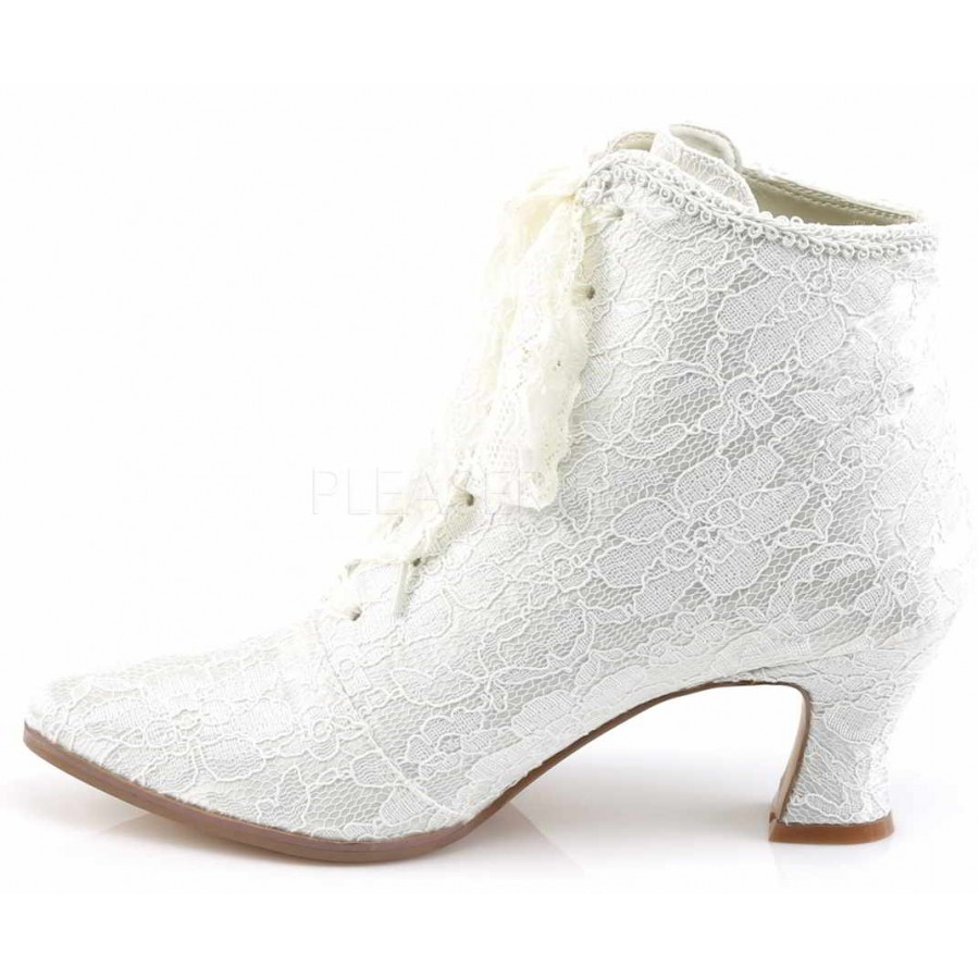 Wedding Shoes Victorian Jane Ivory Lace Ankle Boot At Cosplay Costume Closet Costumes Kids