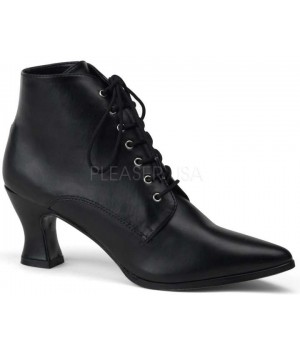Black Victorian Ankle Bootie Cosplay Costume Closet Halloween Shop Halloween Cosplay Costumes | Kids, Adult & Plus Size Halloween Costumes
