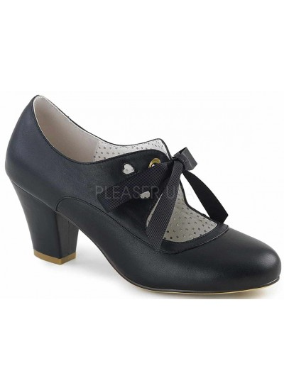 Wiggle Vintage Style Mary Jane Shoe in Black at Cosplay Costume Closet Halloween Shop, Halloween Cosplay Costumes | Kids, Adult & Plus Size Halloween Costumes