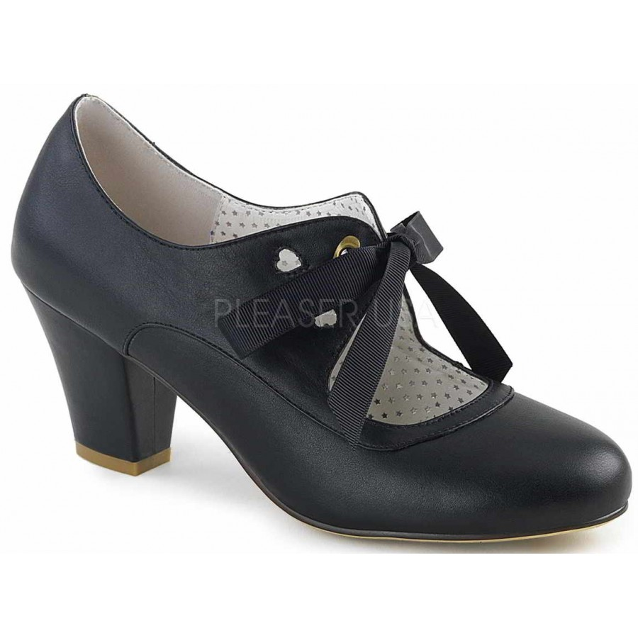 90cf3c2b0dc Wiggle Vintage Style Mary Jane Shoe in Black at Cosplay Costume Closet  Halloween Costume Shop