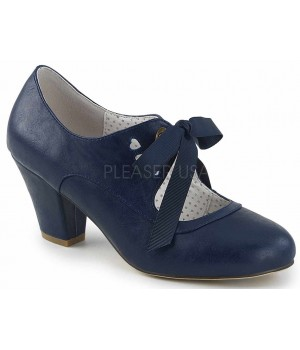 Wiggle Vintage Style Mary Jane Shoe in Navy Blue Cosplay Costume Closet Halloween Shop Halloween Cosplay Costumes | Kids, Adult & Plus Size Halloween Costumes