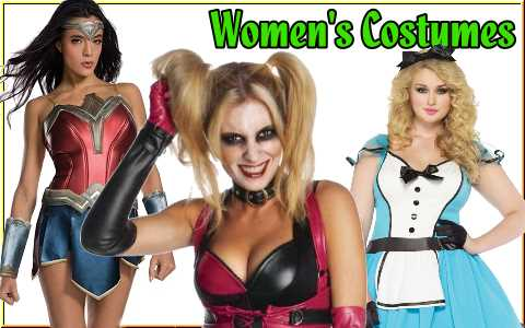 shop cosplay and halloween costumes and accessories for men, women and children