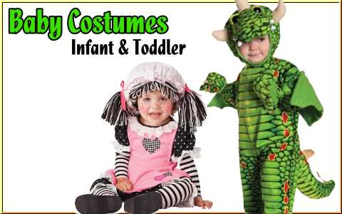 buy halloween costumes for infants and toddlers