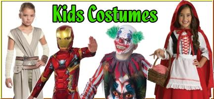 buy kids halloween costumes for boys and girl