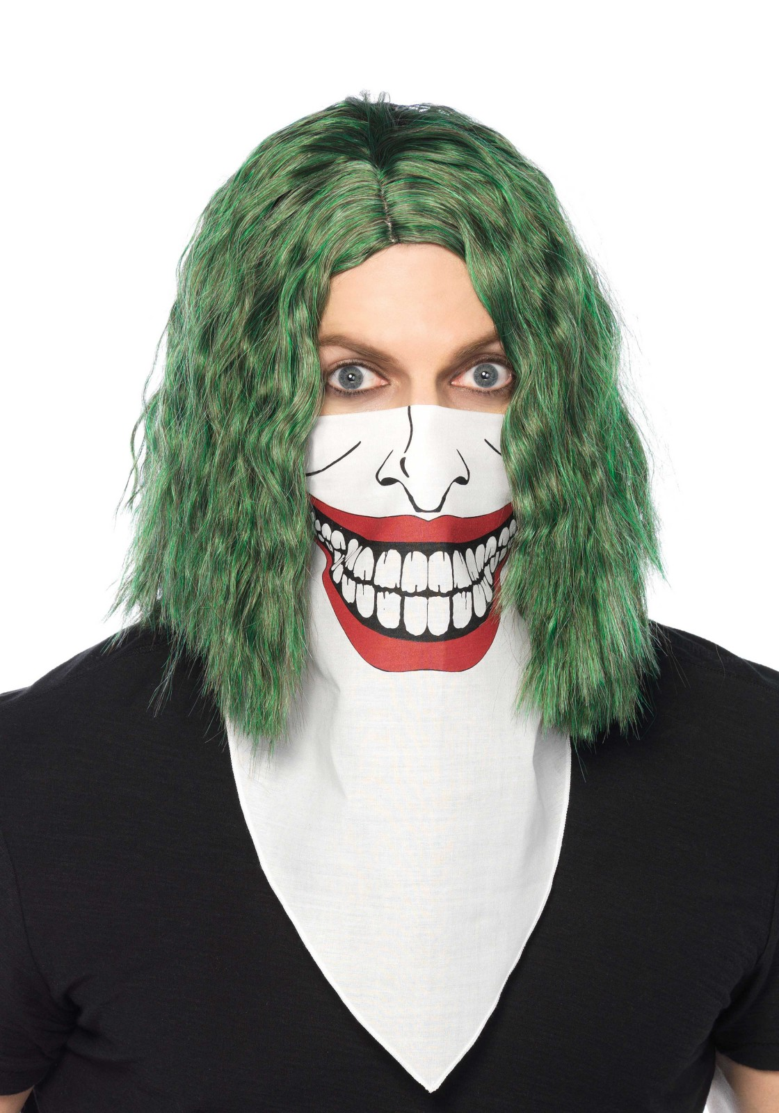 Jokester Bandana Costume Mask