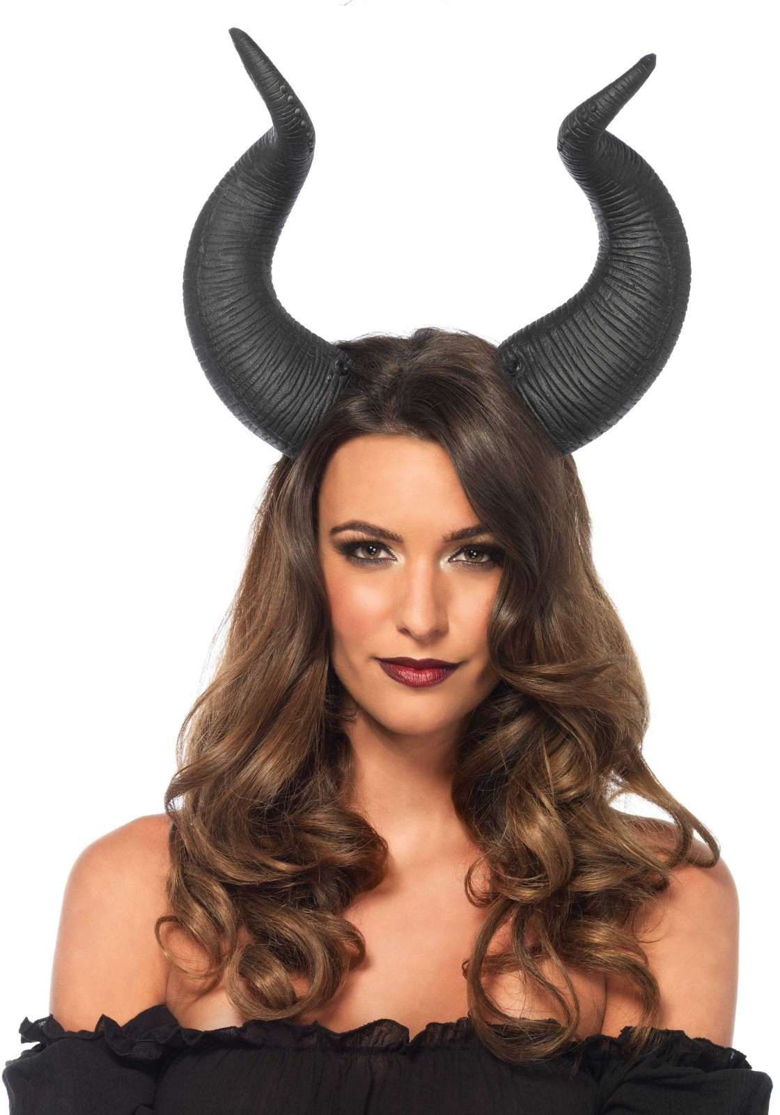 Maleficent Style Horned Headband